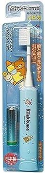 ミニマム 電動付歯ブラシ リラックマハピカ ブルー 毛の硬さ:やわらかめ DBM-5B(RK)