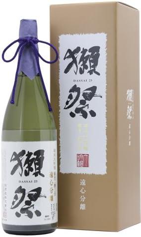 獺祭■ 遠心分離磨き二割三分 純米大吟醸 1800ml 化粧箱入り