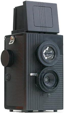 【blackbird, fly (ブラック) 】35mmフィルム仕様の2眼レフ 広角レンズでビビッドで美しい写り。ホルガロモなどのトイカメラファンも必見のブラックバードフライ...