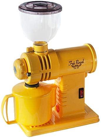 富士珈機 みるっこ コーヒーミル R-220 [カット臼タイプ/エスプレッソ対応・イエロー]
