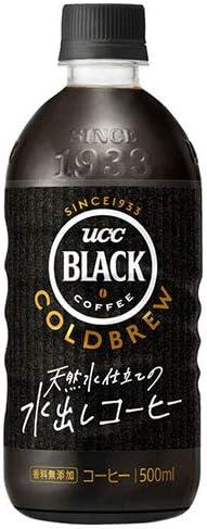 UCC BLACK COLD BREW(ブラック コールドブリュー) 500mlペットボトル×24本入
