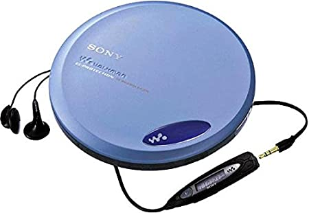 SONY ポータブルCDプレーヤー D-EJ775 ブルー