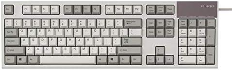 東プレ R2S-US3-IV REALFORCE S R2 英語 フルキーボード(104配列 静音):アイボリー 30g