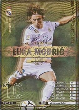 WCCF/17-18/POY 4/ルカ・モドリッチ