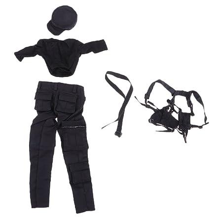 SM SunniMix 1/6スケール 戦闘制服 人形ユニフォーム ドール服 人形部品 12インチ女性アクションフィギュア用