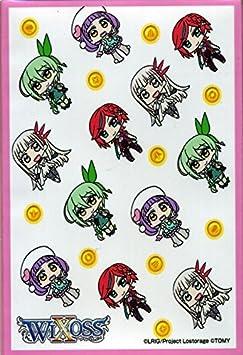 ウィクロス インサイテッドセレクターBOX付属 カードプロテクト10枚(ミニキャラ)