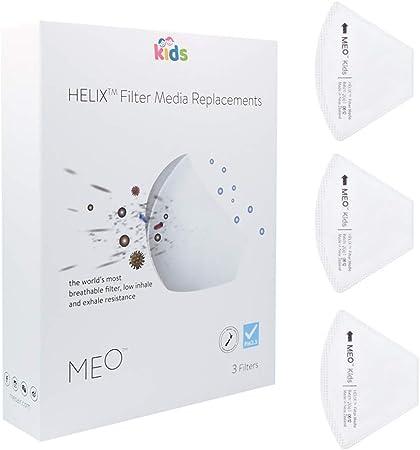 替えフィルター ガーゼマスク マスク フィルター研究から生まれたNZ産マスク MEO kids 子供用 フィルター単品