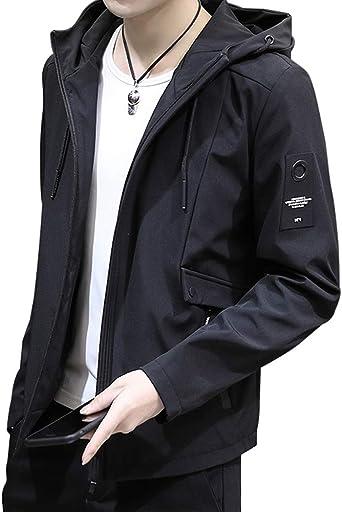 (ソインガ) Soinnga マウンテンパーカー ウィンドブレーカー アウトドア メンズ フード 軽量 ジャケット ブルゾン ジャンパー 防風 防寒 カジュアル