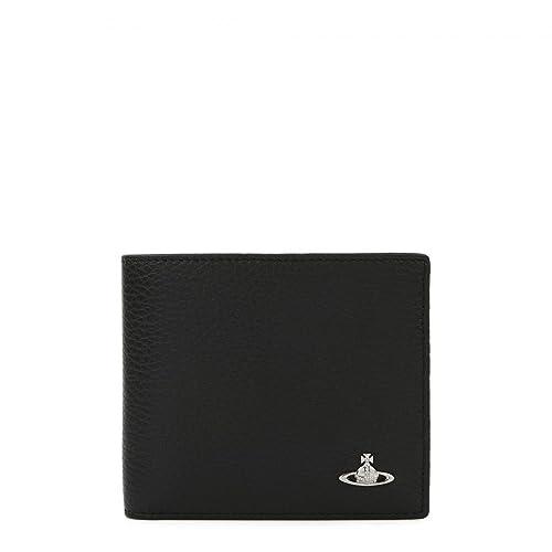 [ヴィヴィアンウエストウッド VivienneWestwood] メンズ 二つ折り財布 MILANO 33409 黒 BLACK [並行輸入品]
