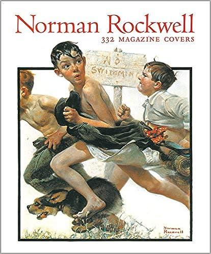 Norman Rockwell: 332 Magazine Covers (Tiny Folio)(英語) ハードカバー – 1997/10/1