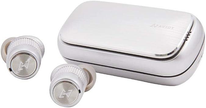 AVIOT TE-BD21f トゥルーワイヤレスイヤホン 完全ワイヤレス Bluetoothイヤホン iPhone アンドロイド SBC AAC aptX 対応 防水 IPX...