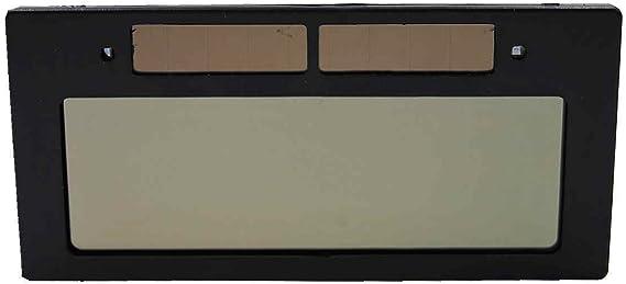 太陽電池 式 自動遮光 溶接ゴーグル 溶接面 保護 プレート の 予備4枚付き (交換用 自動遮光レンズ のみ)