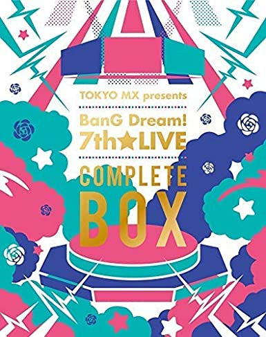 【初回生産分】 TOKYO MX presents「BanG Dream! 7th☆LIVE」COMPLETE BOX (「BanG Dream! 8th☆LIVE 夏の野外3DAYS」最速先行抽選応募申込券封入)[Blu-ray]