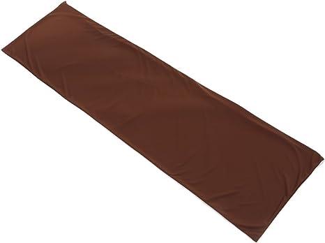 抱き枕カバー 160cm×50cm対応 オリジナル ブラウン 横ファスナー 【日本製】
