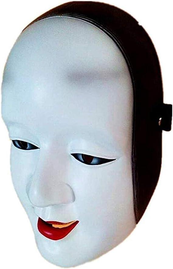 お面 女能面 高級仮面 民芸品お面 豪華能面 パーティーのコスプレ仮面小面 室内装飾お面