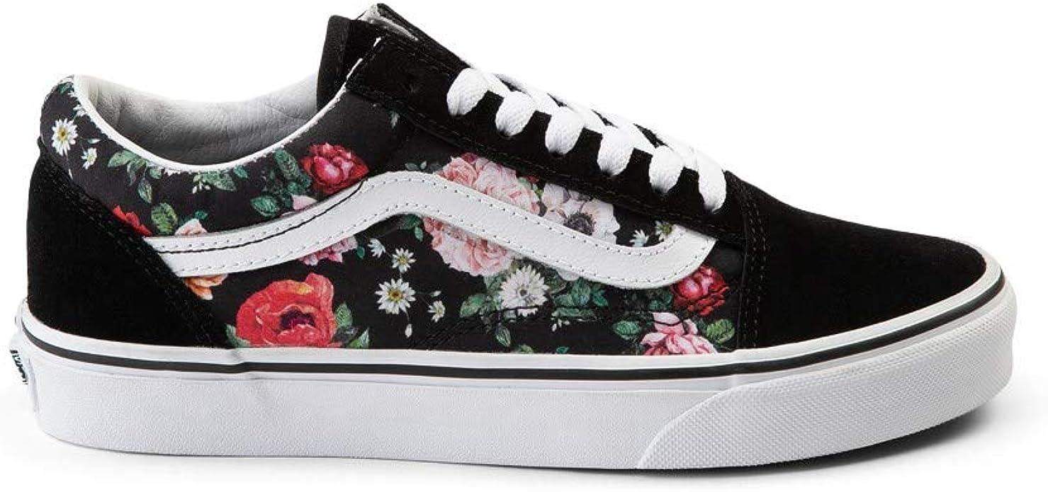 [VANS(バンズ)]ユニセックス靴・スケートシューズ Garden Floral Skate Shoe OLD SKOOL オールドスクール Black/Floral ブラ...