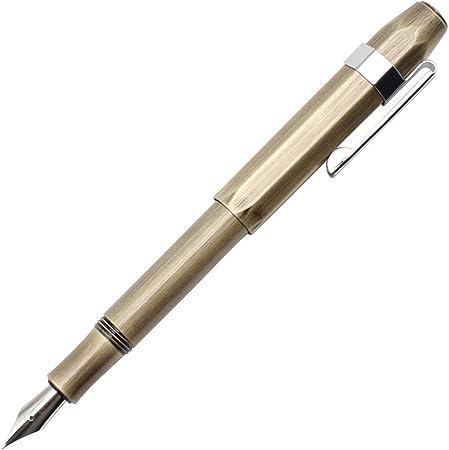 Gullor Sport 万年筆 真鍮 ポケットペン ビジネス用 シグネチャー ギフトボックス付き ブロンズ