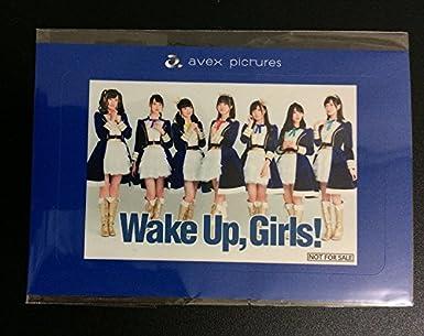 AJ2018 wake UP girls エイベックス・ピクチャーズ ガチャ配布ステッカー AR写真 WUG anime japan アニメジャパン Wake Up, Girls