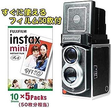 チェキの二眼レフカメラ登場!【Instant Flex TL70】フィルム50枚付き