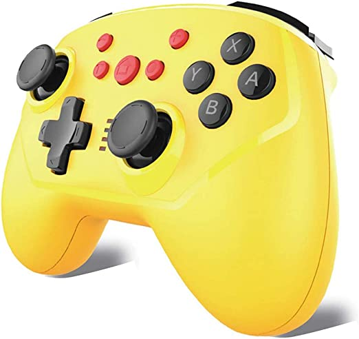 Nintendo Switch コントローラー 【2020最新型】Maxku Switch Pro コントローラー ワイヤレス Bluetooth 接続 小型6軸ジャイロセン...