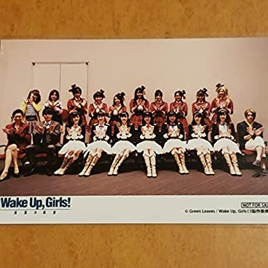Wake Up,Girls 吉岡茉祐 田中美海 山下七海高木美佑 永野愛理 奥野香耶 青山吉能 ブロマイドA WUG