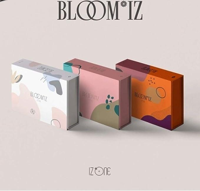 [ポスター丸めて発送] BLOOM*IZ - IZ*ONE 1ST ALBUM / アイズワン 1集 アルバム [3種類セット]