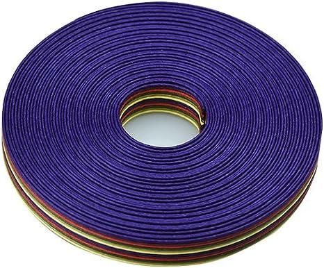 手芸用 エコ クラフトテープ 御所車 50m巻 幅15mm 12芯 紙 バンド テープ 日本製