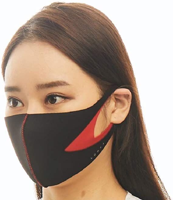 【LOOKA ルカ】デュアル デザイン マスク Mサイズ Sサイズ 男女兼用