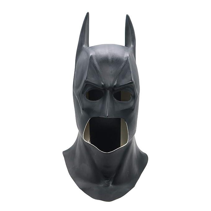 バットマン コスプレ 仮面 ブラック 文化祭 学園祭 イベント 面具 お祭り 仮装 かぶりもの ダークナイト