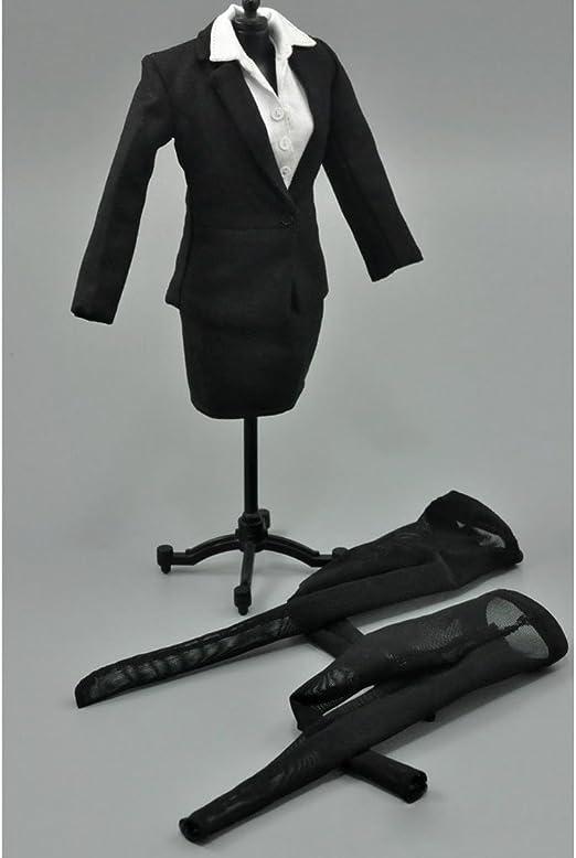 1/6 ビジネススーツ 女性 衣装 スカート フィギュア アクセサリー 女教師 秘書 キャリアウーマン 制服 12インチ