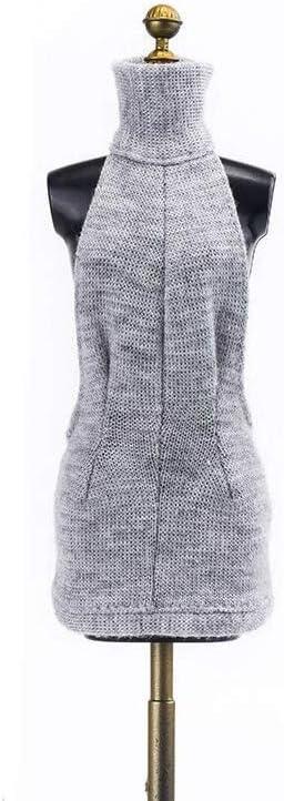 1/6 衣装 ドレス コスプレ 人形 ドール セクシー ホビー レディー 12インチ グレー