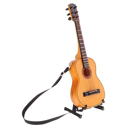 1/6スケール ミニ エレクトリックギターモデル ドールハウス装飾 楽器 オーナメント 5色 - #3 [アダルト]