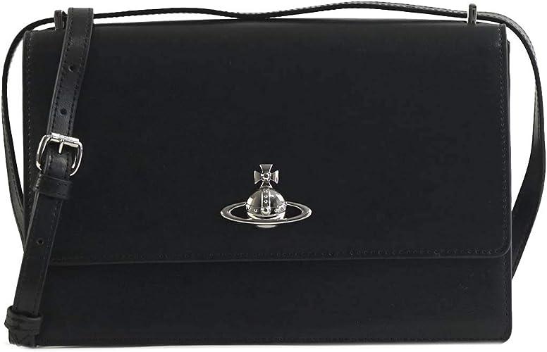 ヴィヴィアンウエストウッド バッグ ショルダーバッグ VIVIENNE WESTWOOD MATILDA BK 41020002 LARGE BAG WITH FLAP N4...