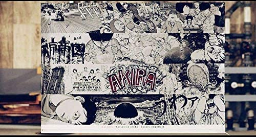 「AKIRA/A.D.2019 AKIRA ART WALL CALENDAR」漫画「アキラ」大友 克洋・作 世界2019部 限定品 B0版サイズ・ポスタータイプカレンダー