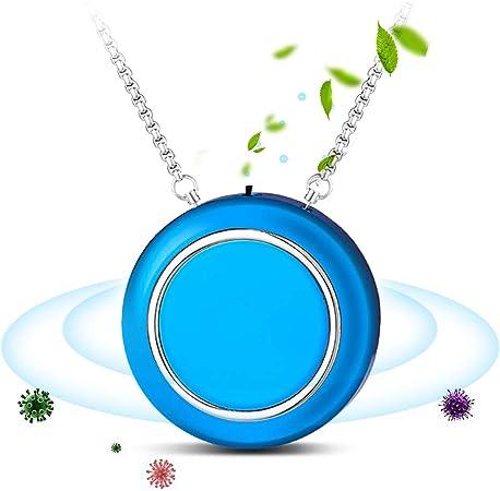 パーソナル空気清浄機 ウイルス対策 300万個以上のマイナスイオン 12H連続稼働 携帯型 ポータブル 空気 浄化機 ミニ 小型 ネックレス pm2.5 イオン発生器 異臭 ...