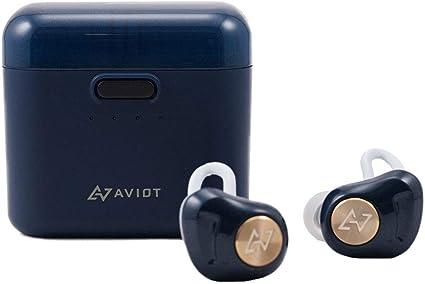 AVIOT アビオット 日本のオーディオメーカー TE-D01d Bluetooth イヤホン 高音質 グラフェンドライバー搭載 完全ワイヤレス QCC3026チップ iPh...