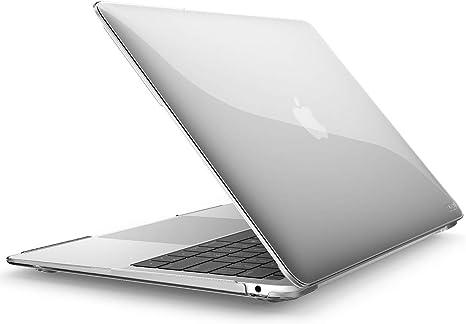 i-Blason MacBook Air 13インチ ケース 2018 Release 薄型 耐衝撃 保護 シェルカバー (透明)