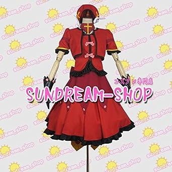 【サイズ選択可】女性LLサイズコスプレ衣装102471魔法少女リリカルなのはA'sヴィータ 戦闘服