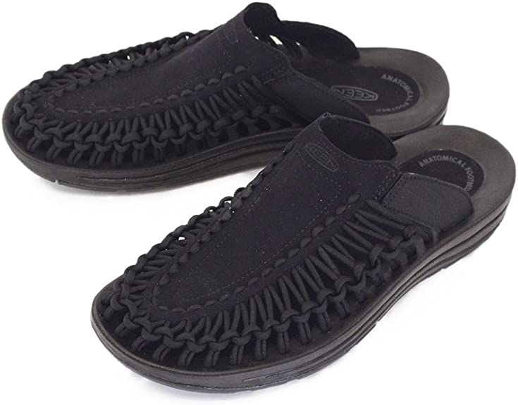 [キーン] Men's UNEEK SLIDE 1017218 サンダル BLACK/BLACK