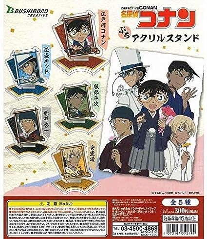 名探偵コナン ぷちアクリルスタンド 全5種セット