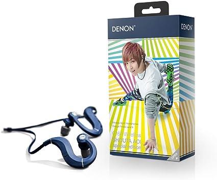 Denon ワイヤレスイヤホン 蒼井翔太スペシャルエディション Bluetooth対応/防汗・防滴仕様/マイク付 ブルー AH-C160WSHOUTA