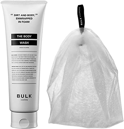 BULK HOMME THE BODY WASH & THE BUBBLE NET (ボディウォッシュ & バブルネット)