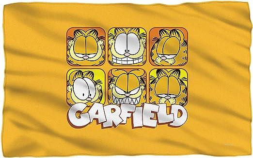 """面 – - Garfield – - Fleece Throw Blanket ( 36 """" x58 """" )"""