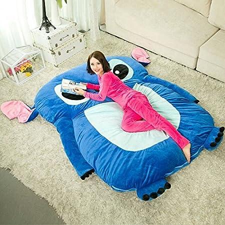 折りたたみベッド 寝袋 可愛い デザイン 四季を通じて ふわふわ マットレス ボリューム (ダブル)