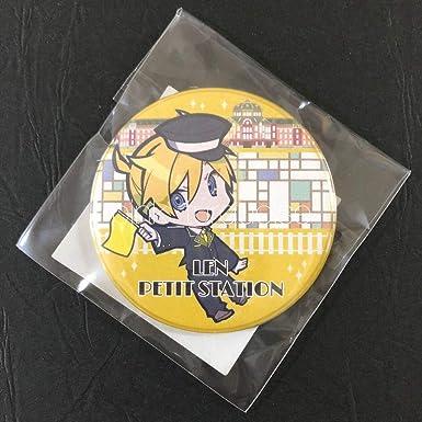 鏡音レン 東京駅 コラボ 缶バッジ 初音ミク 鏡音リン KAITO 電車 プチステーション ガチャ カプセルトイ goods mani anime
