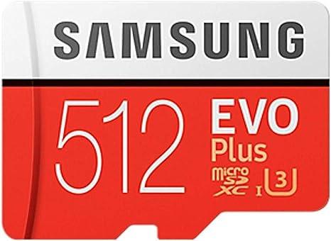SAMSUNG microSDXC 512GB Class10 U3 4K対応 R:100MB/s W:90MB/s UHS-I EVO Plus MB-MC512GA サム...