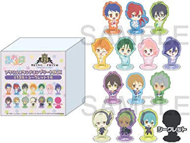 KING OF PRISM -Shiny Seven Stars- ふわぽにシリーズ アクリルスタンドコンプリートBOX