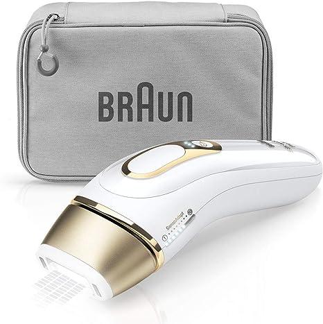 ブラウン 光美容器 シルクエキスパート ホワイト Pro5 PL-5014【Amazon.co.jp 限定・顔/全身のケアに使えるアタッチメント付き】