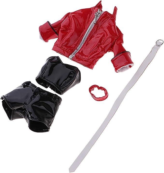 sharprepublic 1/6衣装 人形ジャケット パンツ ベスト ドール服 12インチフィギュア用