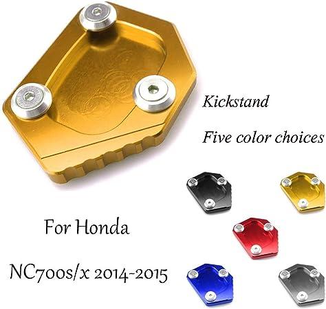 UBuy Honda NC700s/x 2014-2015 用 オートバイ バイク 用 サイドスタンド キックスタンド エンド プレート